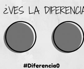 ¿Ves la diferencia?